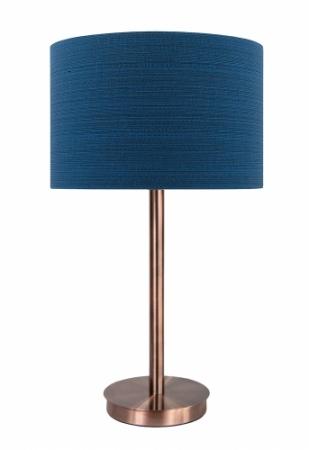 LLT Flynn Antique Copper Fibre Blue
